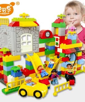 儿童积木大颗粒益智力玩具