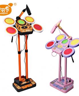 早教男女话筒音乐器玩具