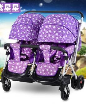 双人婴儿车