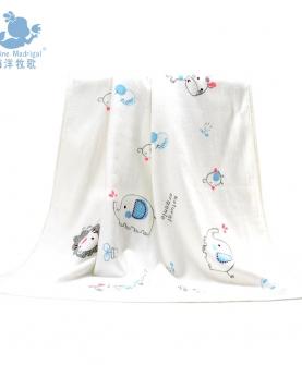 婴儿竹纤维浴巾