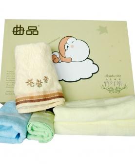 宝宝毛巾浴巾