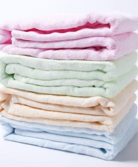 超柔软抗菌方浴巾