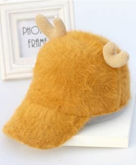 宝宝保暖鸭舌帽