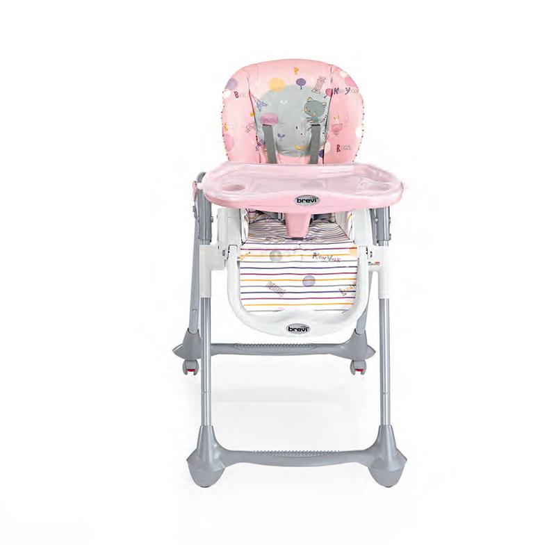 贝利维多功能折叠便携式儿童餐椅