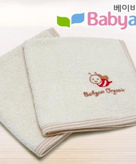小蜜蜂 有机棉小毛巾