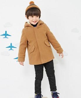 秋冬款男童呢大衣