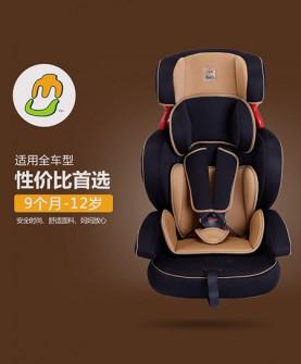 褐色款安全座椅