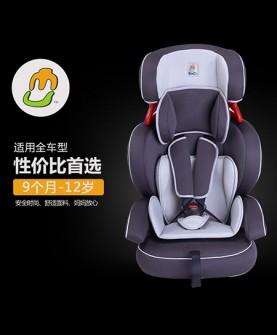 深灰色安全座椅