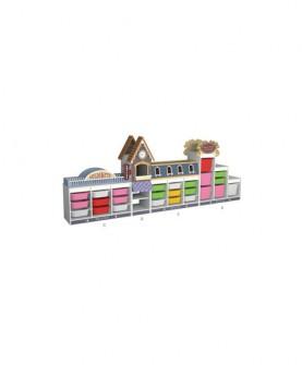 多功能组合玩具柜
