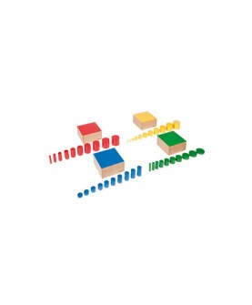 家庭装小彩色圆柱体