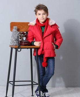 冬款男童套装