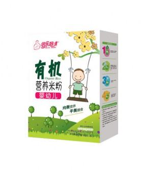 婴幼儿有机米粉盒装