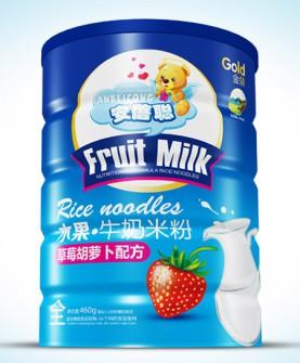 水果牛奶米粉铁听