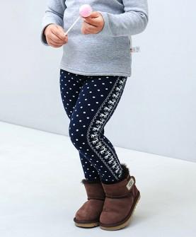女童冬季外穿保暖加厚长裤