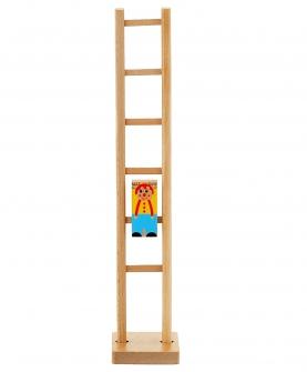 儿童玩具新年礼物小丑滚楼梯