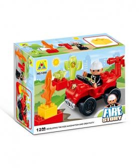 消防车沙滩玩具