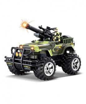 军事越野摇控车
