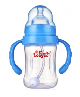 260ml宽口径婴儿pp储奶瓶