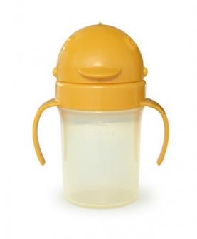 防漏吸管水杯(橙色160ml)