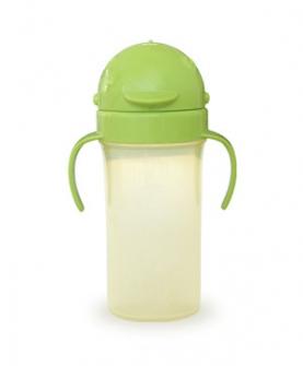 防漏吸管水杯(绿色)