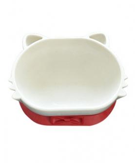 双层餐碗(红色)