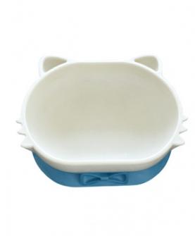双层餐碗(蓝色)