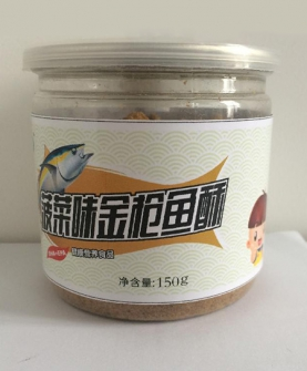 透明装150g菠菜味金枪鱼酥