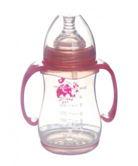 带柄PP耐高温奶瓶