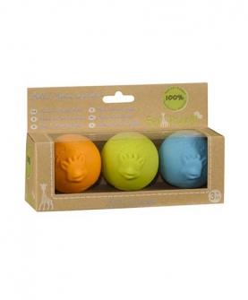 天然乳胶球型牙胶玩具