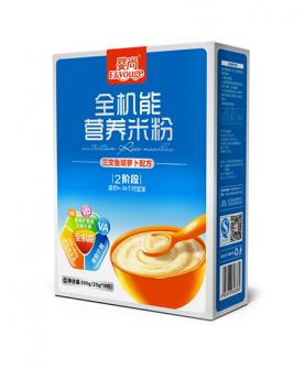 全机能营养米粉(三文鱼胡萝卜)