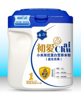 小米双优蛋白营养米粉1段