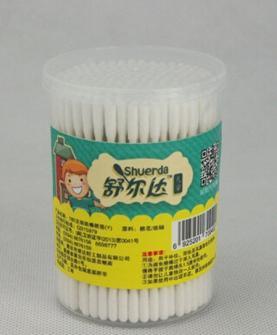 180支婴童圆筒细纸棒圆柱头棉签