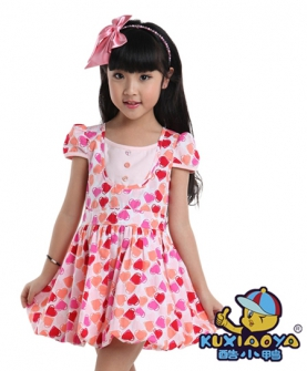 连衣裙(花瓣纹)