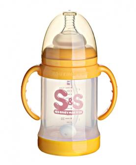 宽口玻璃安全奶瓶