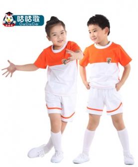 幼儿稚园园服短袖圆领套装