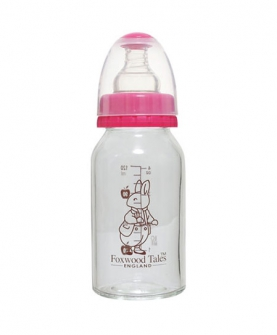 真实母乳感标准口径玻璃小奶瓶