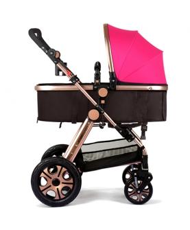 高景观婴儿推车伞柄车