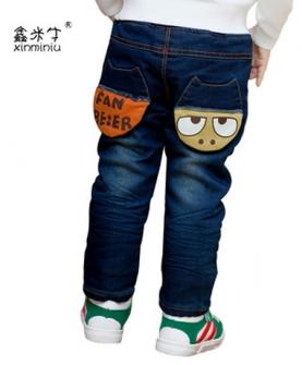 冬季小童保暖长裤