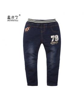 春秋童装儿童牛仔裤