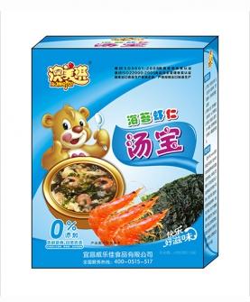 海苔虾仁汤宝
