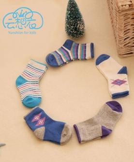纯棉松口婴幼儿童袜子