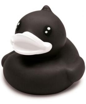 b.duck洗澡玩具(黑色)