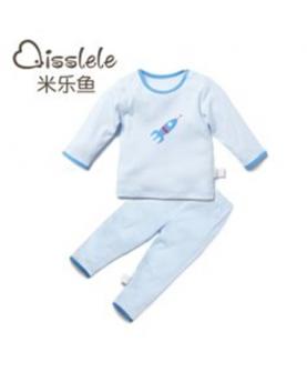婴儿内衣套装春秋款