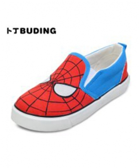 男童低帮套脚帆布鞋