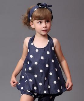 女童休闲时尚连衣裙