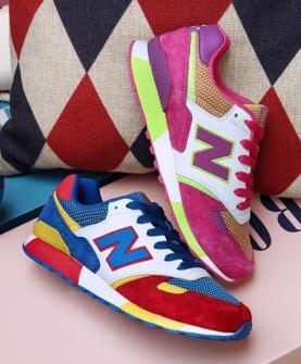 跑步鞋(蓝色和紫色)