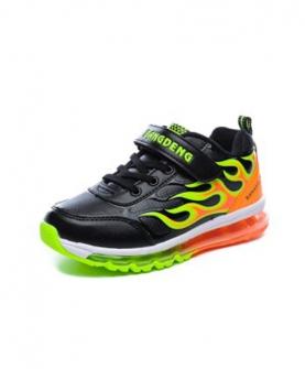 男童减震舒适弹簧鞋运动鞋