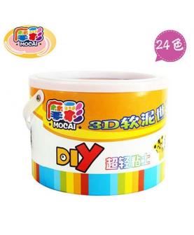 24色桶装彩泥橡皮泥