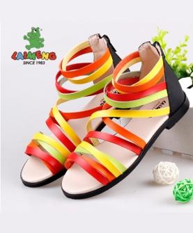 公主鞋潮彩虹鞋