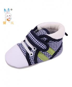 纯棉布学步鞋